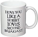 N\A Ti Amo Come Uno Hobbit AMA la seconda Colazione Tazza da caffè