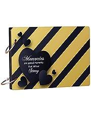 100Yellow Memories Theme Wooden Photo Album Scrapbook