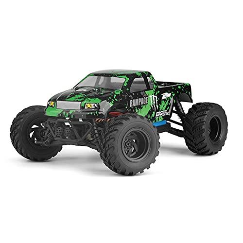 SFOOS 1:18 Escala Fuera de la Carretera Camión de Alta Velocidad 2.4G RC, 4WD Bigfoot Monster Monster Stick Resistente a RC Car para Adultos, Niño Navidad Remoto Control Remoto Toy Coche Regalo