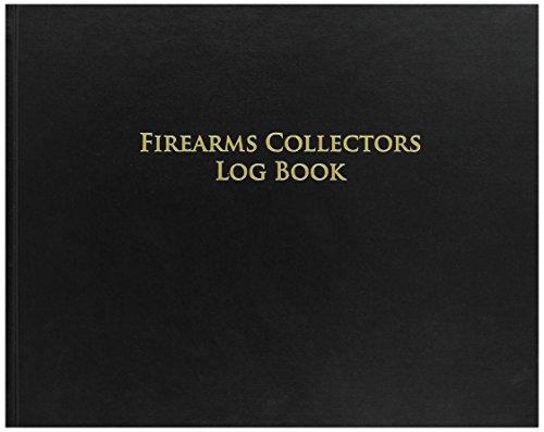 "BookFactory C&R FFL 03 Bound Book/C&R Bound Book/Curio and Relics Bound Book 8 7/8"" x 7� 72 Pages Black Imitation Leather Cover Professional Grade Smyth Sewn Hardbound (LOG-072-GUNCOLL-LKT39)"