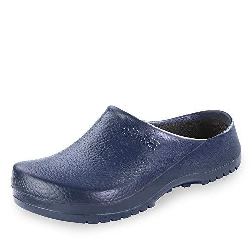 BIRKIS Super-Birki Clogs Alpro-Schaum, Blue, Größe 45 mit normalem Fußbett