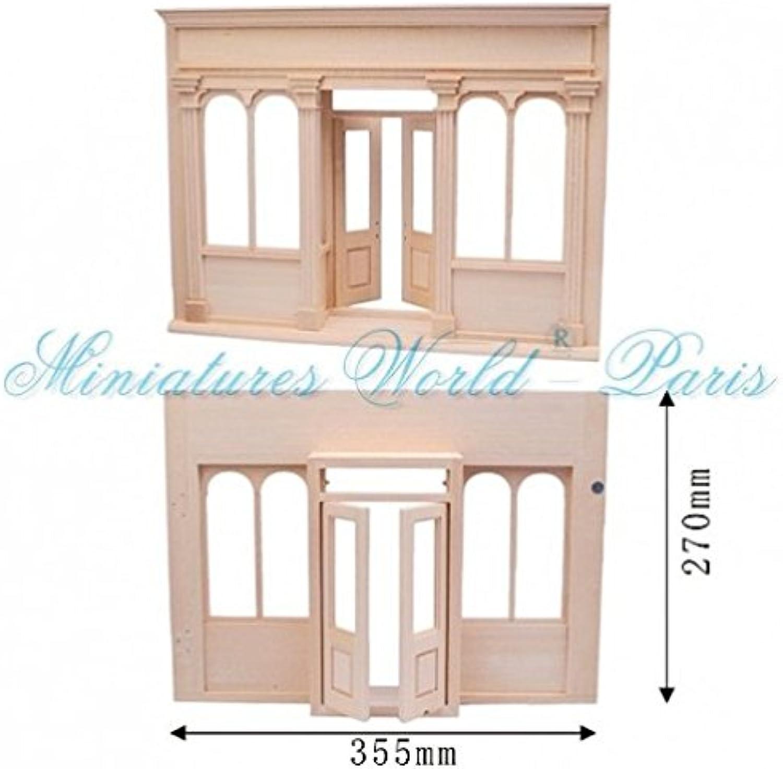 Con precio barato para obtener la mejor marca. Maison de poupées poupées poupées miniature - Facade de boutique  alto descuento