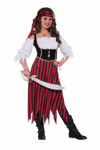 Forum Novelties Women's Teenz Pirate Maiden Costume, Multi-colored, Teen - http://coolthings.us
