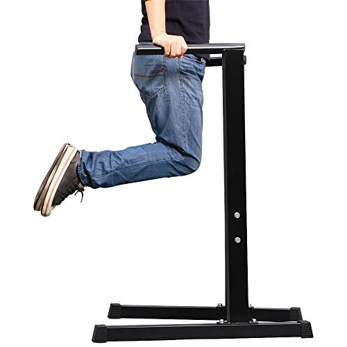 Yaheetech Dip Station Stand Chest Tricep Exercise Workout Station, Max Weight Capacity: 300kg