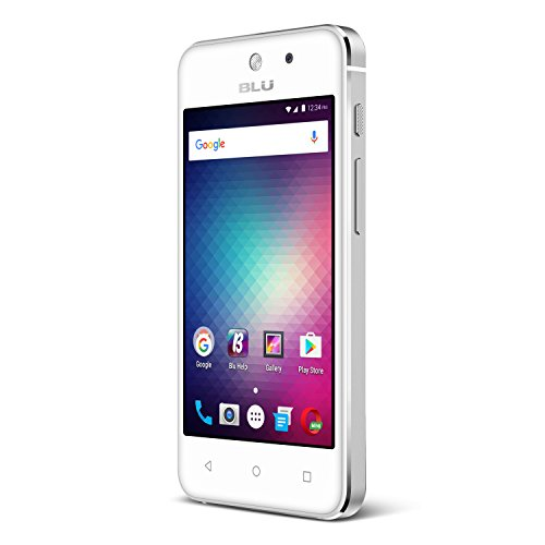 Blu vivo 5 Mini - 4.0' Smartphone Factory unlocked, Aluminum design, Silver