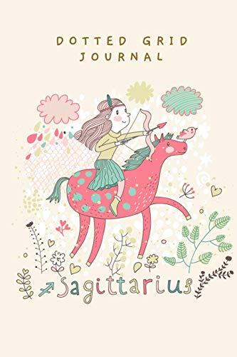 DOTTED GRID JOURNAL: CUTE SAGITTARIUS THEME COVER