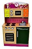 Best For Kids Kinderküche Spielküche SWEET W10C013 violett aus Holz mit Zubehör Super Qualität aus MDF Platte
