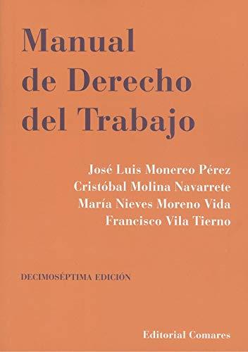 Manual De Derecho Del Trabajo (17ª Ed.)
