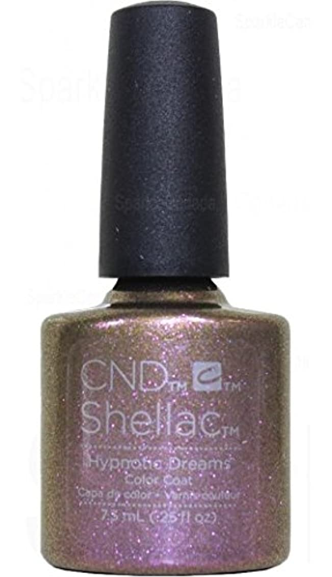 トーク実験的売り手CND Shellac Gel Polish - Fall 2017 Night Spell Collection - Hypnotic Dreams - 0.25oz/7.3ml
