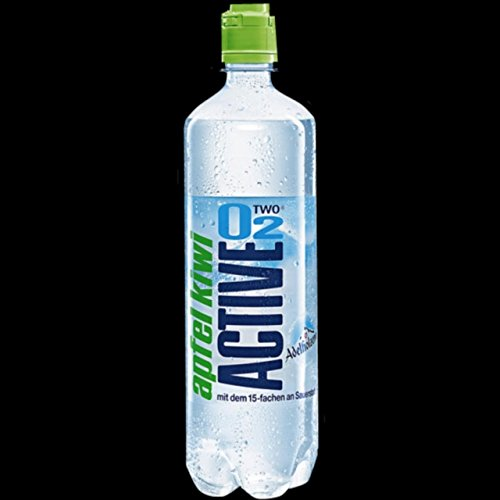 Active O2 Apfel Kiwi 0,75l 8 Flaschen