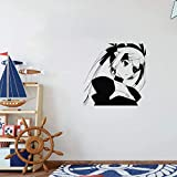 25 Home Décor Anime Wall Decals Wall Viinyl Sticker Decal Art Mural Anime Manga Sexy Girl Pirate
