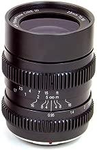 SLR Magic 25mm T0.95 Hyperprime Cine III Lens with 50mm Micro Four Third Mount, 0.20m Minimum Focusing Distance