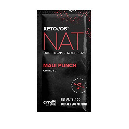 Pruvit Keto//OS NAT CHARGED, BHB Salts Ketogenic Supplement - Beta...