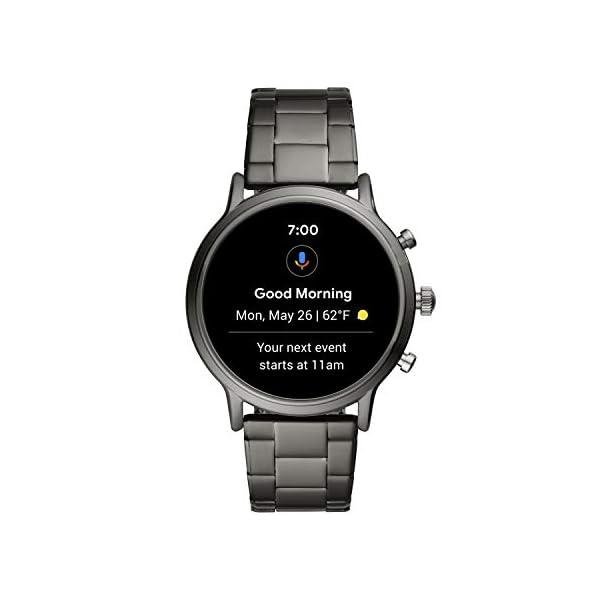 Fossil Smartwatch Gen 5 para Hombre con pantalla táctil, altavoz, frecuencia cardíaca, GPS, NFC y notificaciones… 2