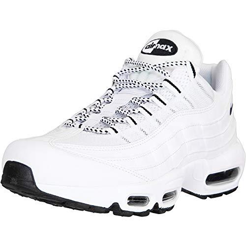 Nike Air Max 95 Essential Sneaker (White/Black, Numeric_44)