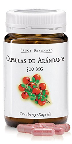 Arándano 500mg - 90 Cápsulas con Vitamina C y Vitamina B2