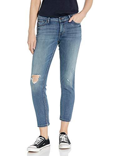 Lucky Brand Damen Low Rise Lolita Skinny Ankle Jeans, Hubbard Destruct, 25W x 27L