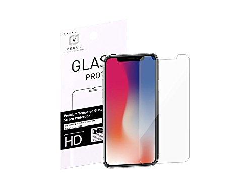 Pellicola iPhone X Vetro Temperato Verus Protezione schermo Ultra resistente Durezza 9H Antigraffio Antiriflesso Antimpronta