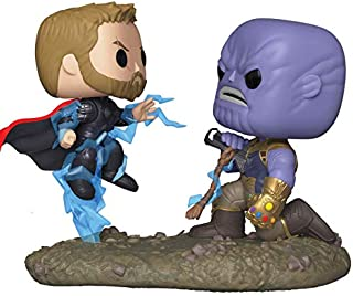 Funko 35799 Moments Marvel: Avengers Infinity War - Thor Vs. Thanos, Multicolor