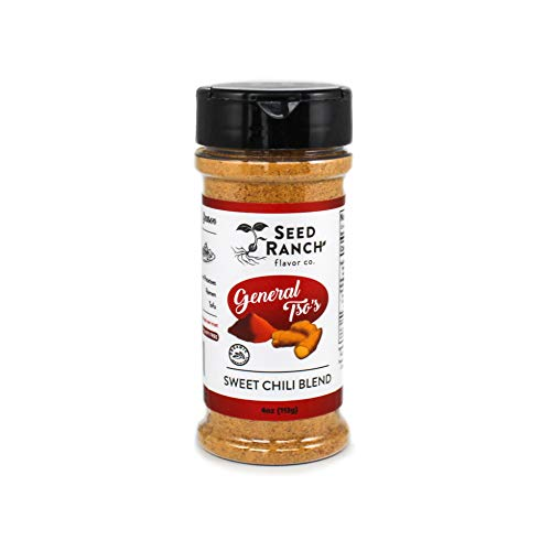 Seed Ranch - General Tso's Seasoning Mix - Sweet And Sour Mix With Nutritional Yeast - Vegan Gluten Free, Dairy Free, Nut Free, Whole 30, Paleo, Keto