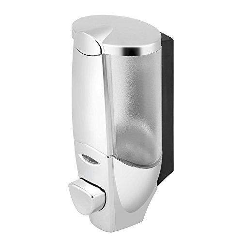 Fdit Distributeur de savon manuel à fixation murale pour salle de bain, douche, shampooing, lotion liquide, 300 ml