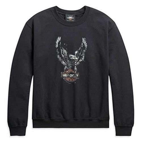 Harley Davidson Sweatshirt Patina Eagle