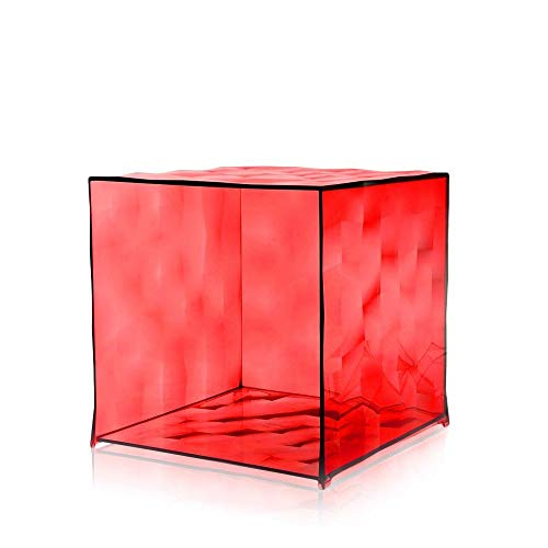 Kartell OPTIC conteneur, rouge