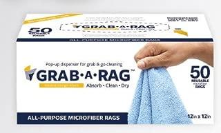 Grab A Rag All Purpose Microfiber Rags (Blue, 50 pack)