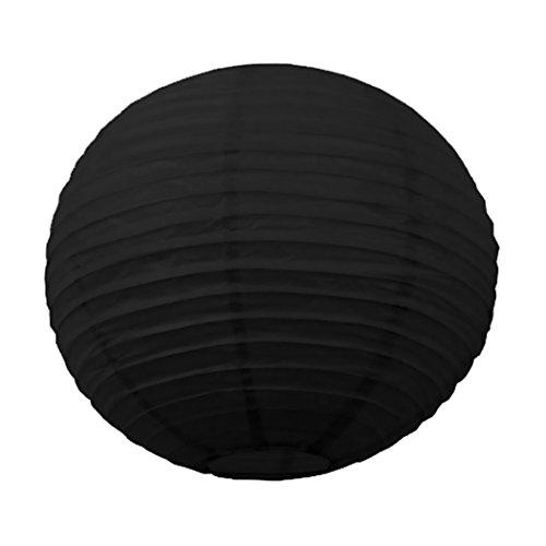 Tim & Puce 502111S Japanse lantaarns, zwart, 15 cm