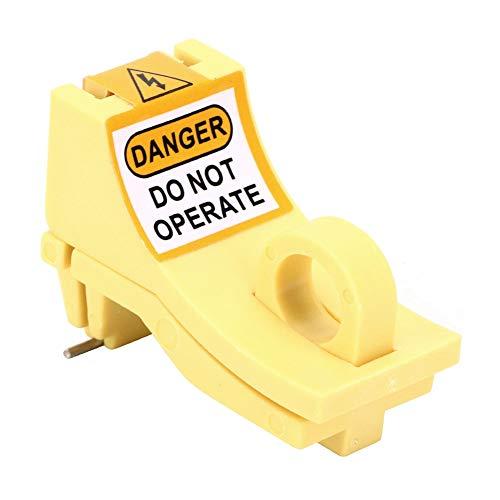 Bloqueo de seguridad MCB, bloqueo duradero de disyuntor en miniatura Práctico para el bloqueo de disyuntores para componentes electrónicos para fábricas para uso general