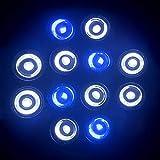 gousheng Luces Led Sumergibles para Peceras, Luces De Acuario Que Cambian De Color, Luces De Cultivo para IluminacióN De Peceras