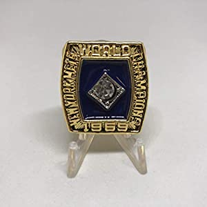 1969 New York Mets World Series High Quality Replica Ring Size 9-Gold Colored