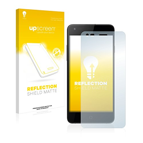 upscreen Entspiegelungs-Schutzfolie kompatibel mit Siswoo i8 Panther – Anti-Reflex Bildschirmschutz-Folie Matt