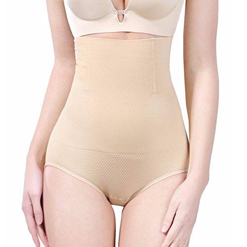 BigEasyStores Body Shaper for Women High Waist Tummy Control Shapewear Slimming Panties Firm for Dress Khaki