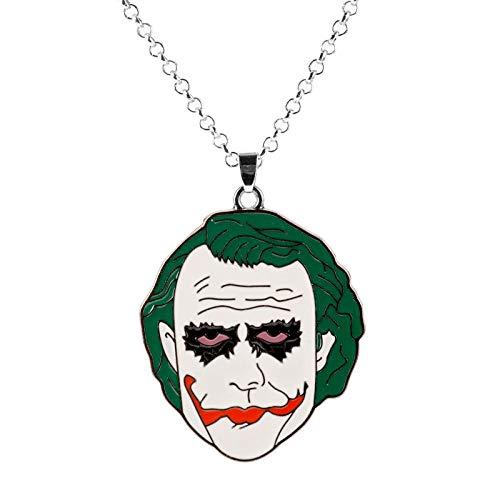 guodong Horrorfilm Seed of Chucky Halskette Clown Figur Anhänger Halskette Cosplay Schmuckkette Für Frauen Halloween Colar