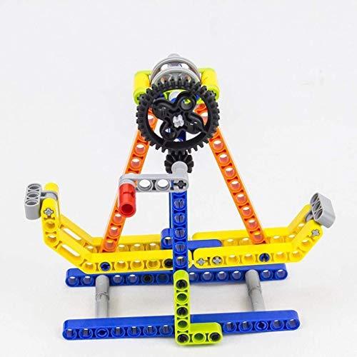 GQLB DIY Anime 3D-Modell DIY Bausteine Spielzeug Puzzle Early Education Building Blocks Educational Props einfügen Bausteine Geschenke DIY Anime 3D-Modell