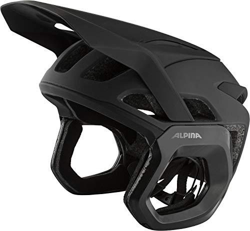 Alpina Unisex– Erwachsene ROOTAGE EVO Fahrradhelm, Black matt, 57-61 cm