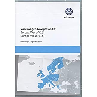Volkswagen-1T0051859AQ-Original-DVD-ROM-Navigation-V16-Europa-West-RNS-510810-Navigationssystem-CY-Navi-Software-VW-Update