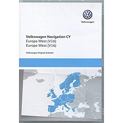 Volkswagen-1T0051859AQ-Original-DVD-ROM-Navigation-V16-Europa-West-RNS-510810-Navigationssystem-CY-Navi-Software-VW-Update