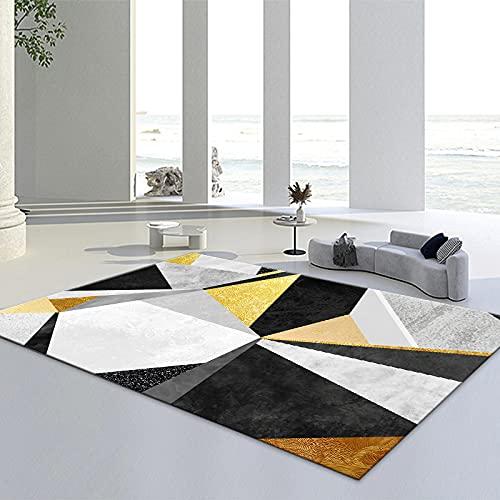 Tappeto Con Motivi Geometrici 3D Piccolo Fresco Soggiorno Tavolino Cuscino Ufficio Ampia Area Tappeto Completo
