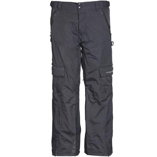 Cox Swain Herren 2-Lagen Ski-/Snowboardhose Ice Limited, Colour: Black, Size: L