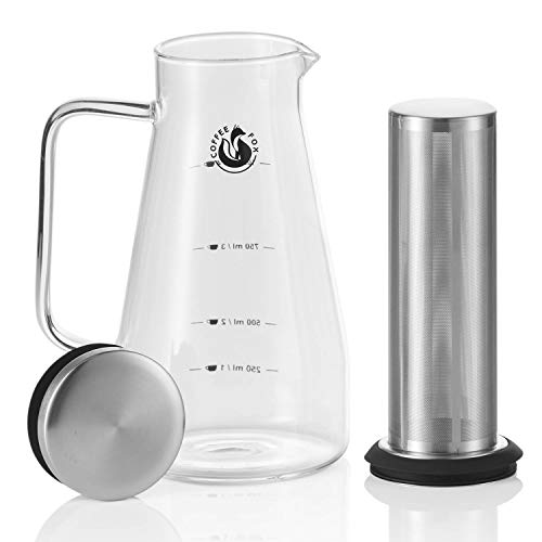 Coffee Fox Cold Brew Coffee Maker - Kaffee-Zubereiter Aroma Eiskaffee Kaffeebereiter