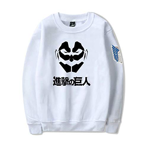 Hombres Mujeres Attack on Titan Manga Pullover Jacket Unisex Anime Attack on Titan Ackerman Levi Pster Impreso Sudadera con Capucha
