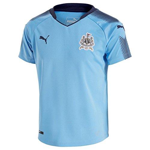 Nuevo Puma Newcastle United 2017/18 Away Camiseta Junior Football Blue, Azul, 7-8...