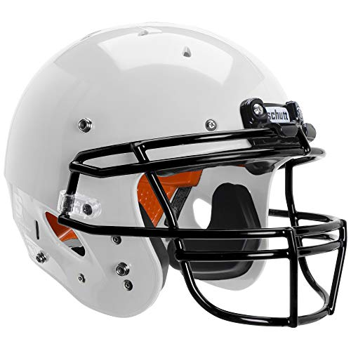 Schutt Recruit Hybrid Youth Football Helmet, W/DNA OPO YF GY, X-Large