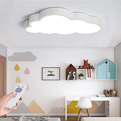 Nubes Luz de techo Luz LED moderna Lámpara de techo Dimmable Acrílico Lámpara de niños Luz de techo Luz de techo Dimmlüster Kindergarten Nursery Dormitorio Sala de comedor Luz de lámpara,Dimmable