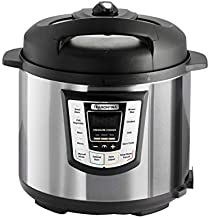 Tramontina 80130/505DS Multi - Use Electric Programmable Nonstick Inner Pot Pressure Cooker, Soup/Stew, Fish/Vegetable, Meat, Beans, Brown Rice, Chicken & Chili Cooker, 6.3-Quart