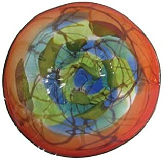Dale Tiffany AV13107-D20 Hankley Art Glass Wall Decor Plate