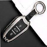 Porte-clés de Couverture de clé de Voiture en Alliage de Zinc, adapté pour Citroen C2 C3 C4 C5 C6...