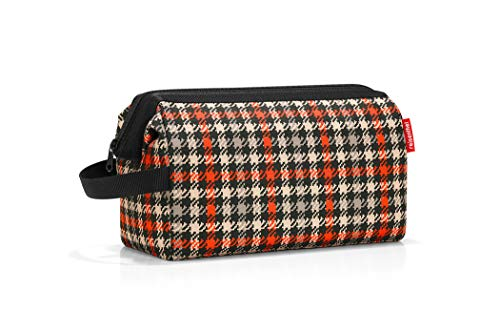 Reisenthel travelcosmetic XL glencheck Red Trousse de Toilette 30 Centimeters 6 Multicolore (Glencheck Red)